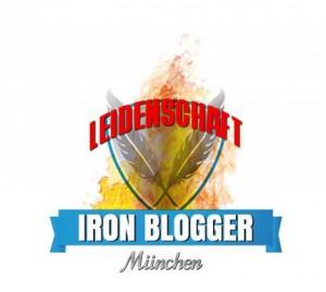 Logo Ironblogger München Blogparade Leidenschaft